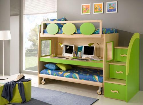 Многофункциональная мебель в детской комнате в гостиной