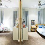 Фото 65: Зонирование детской комнаты перегородкой из гипсокартона