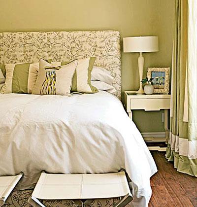 Декор в супружеской спальне