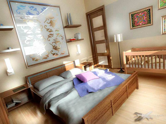 Как сделать детскую и спальню для взрослых