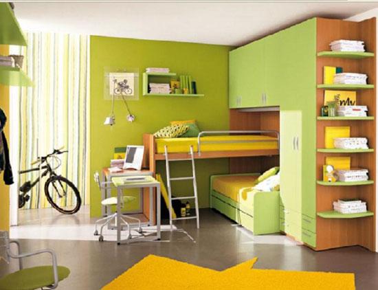 Многофункциональная мебель в детской комнате