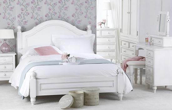 Супружеская спальня в стиле Прованс