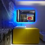 Фото 16: Подсветка в ванной комнате