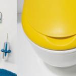Фото 14: Желтый цвет в интерьере туалета
