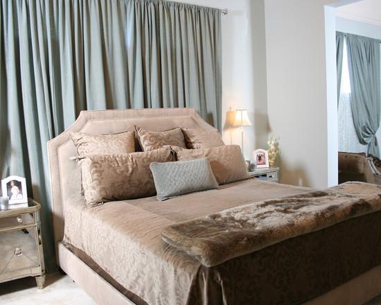 Дизайн штор для спальне