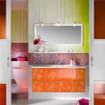 Фото 13: Разноцветная ванная комната