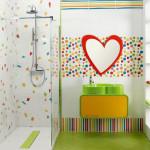Фото 12: Интересный дизайн ванной комнаты