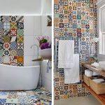 Фото 41: Яркая ориентальная плитка в ванной плитке