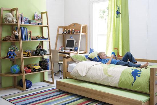 Оформление маленькой детской комнаты для мальчика