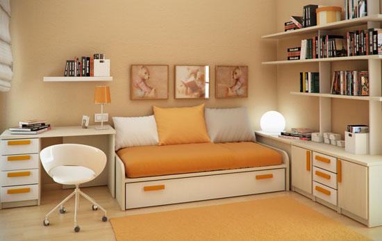 дизайн маленькой детской комнаты фото