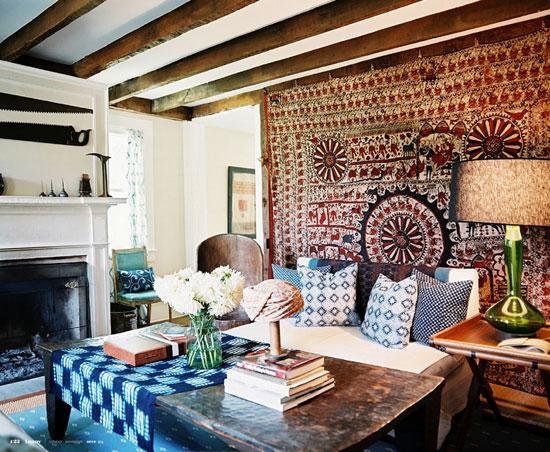 дачный домик в стиле кантри