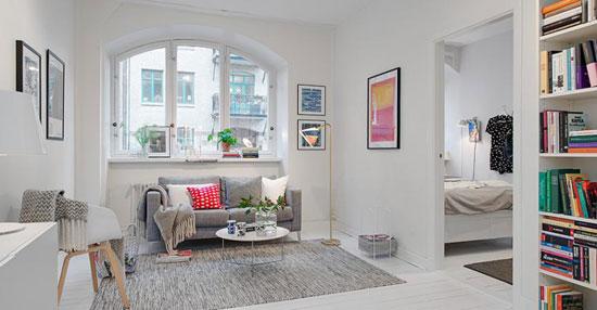 Многофункциональная мебель в скандинавском стиле