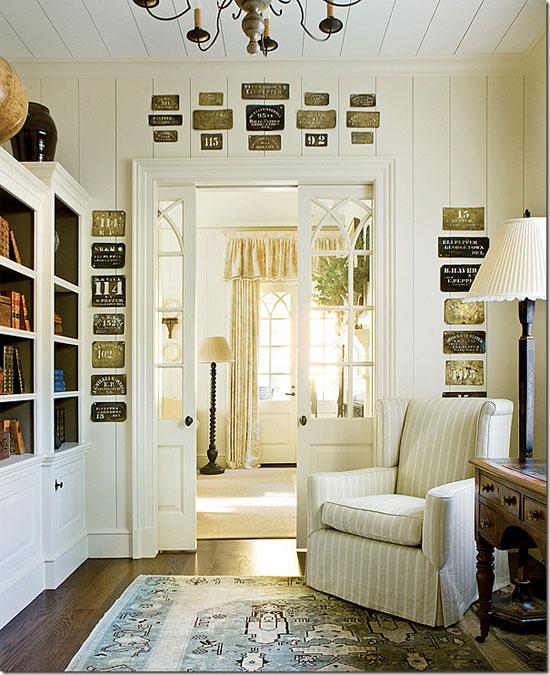 Межкомнатные белые двери в стиле Прованс