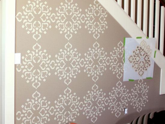Декоративное окрашивание стен фото