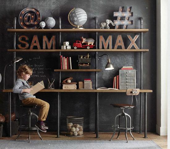 Оформление детской комнаты ( места хранения)