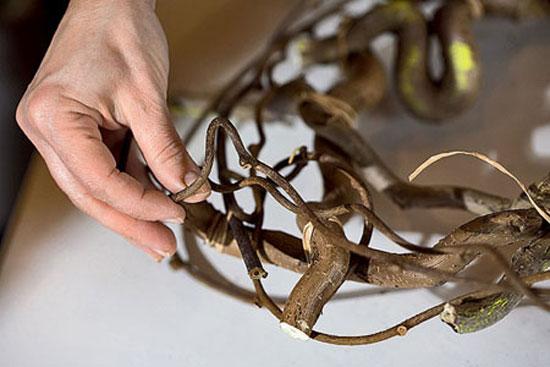 Создаем основу для декоративного венка