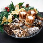 Фото 63: Новогодняя декорация в тарелке
