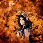 Фото 25: Осенний венок для фотосессий