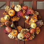 Фото 38: harvest-pumpkin-wreath-o