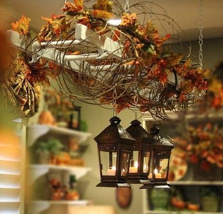 Осенний декор для дома фото