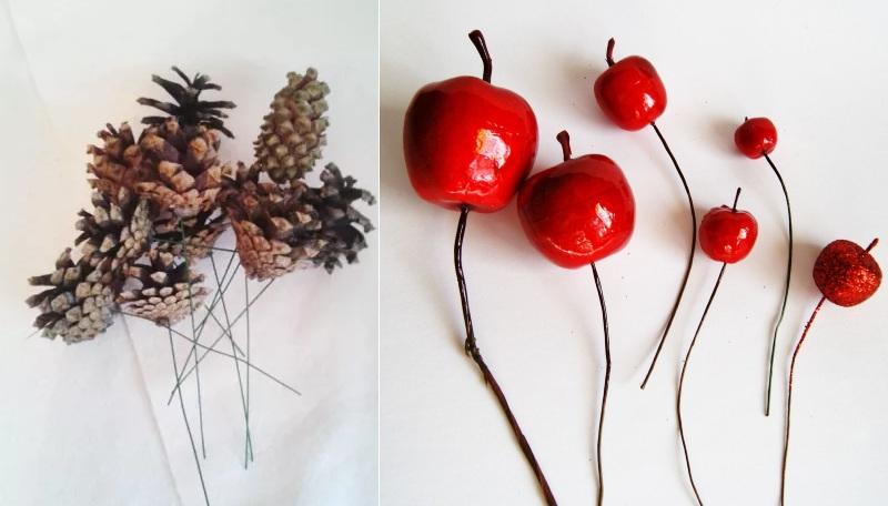 Плоды на проволоке
