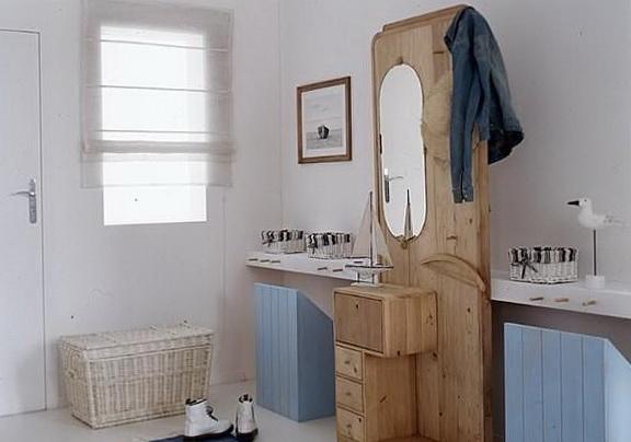 Применение декоративных коробок в интерьере ванной комнаты