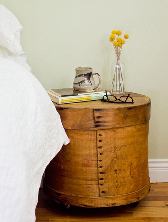 Декоративные коробки для хранения в спальне