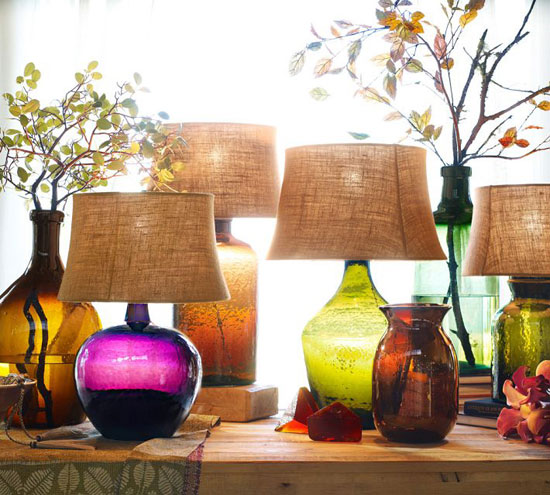 Цветное стекло в интерьере: фото