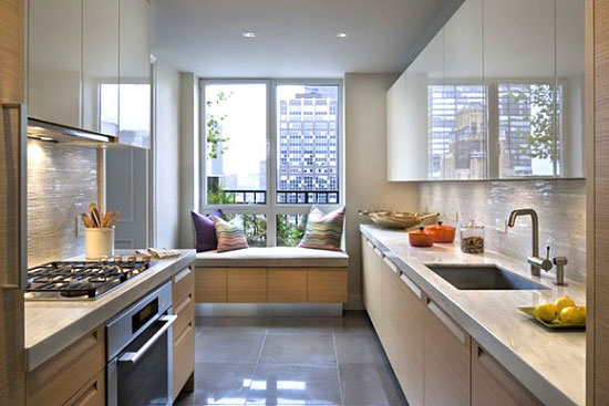 Кухня с эркером дизайн