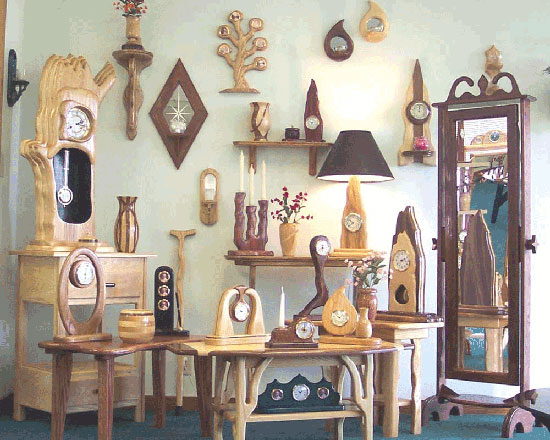Декорирование пустой стены с помощью коллекции