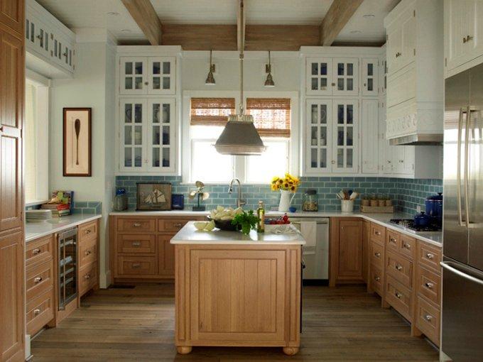 Барная стойка-остров на кухне