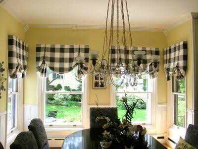 Оформление драпировки штор на кулиске