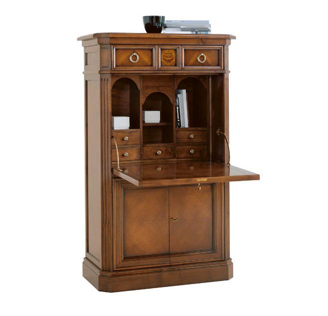 Стол в шкафу - письменный секретер