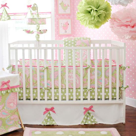 Цельные бортики для детской кровати