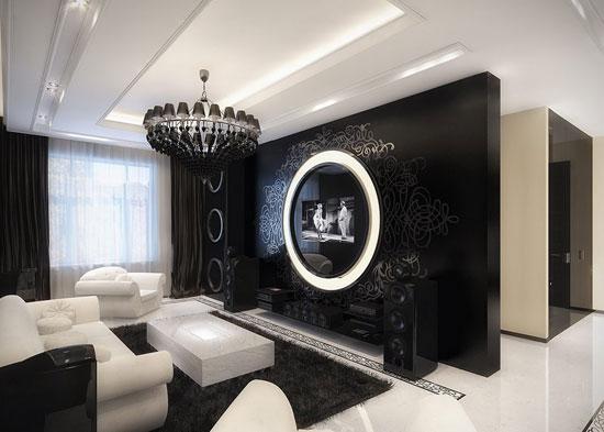 Хрустальная люстра в готическом стиле