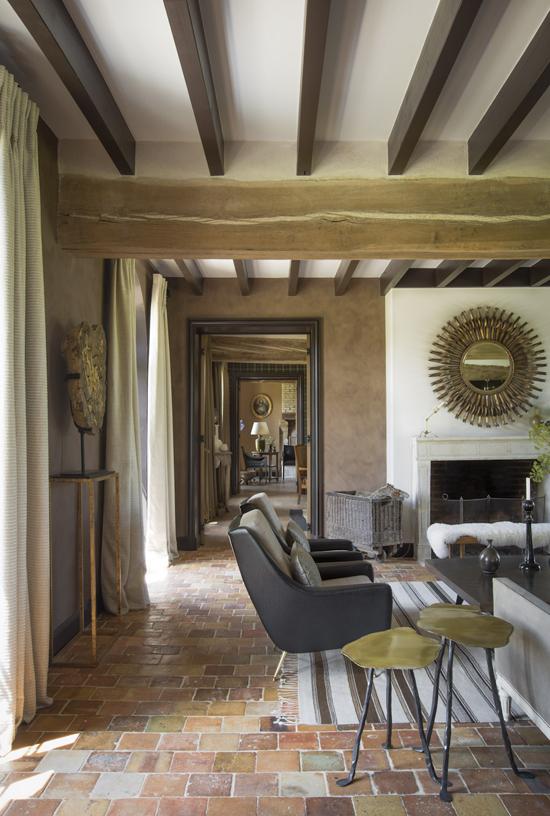 Интерьер дома во Франции