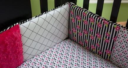 Как сшить мягкие бортики для кроватки самостоятельно