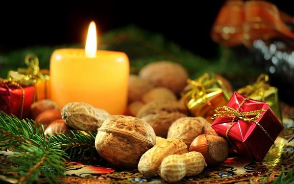 Свеча к новому году
