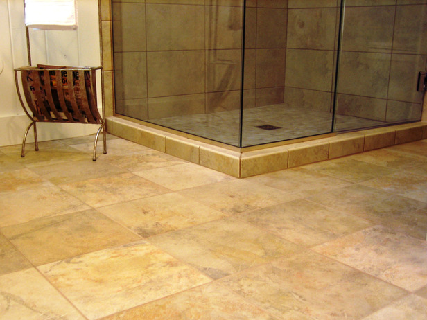 Bathroom floor ideas tile