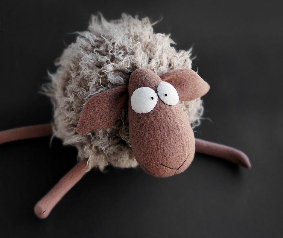 овца своими руками на новый год