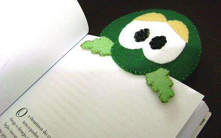 Закладки для книг своими руками из фетра