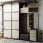 Фото 25: Корпусный шкаф в дизайне прихожей