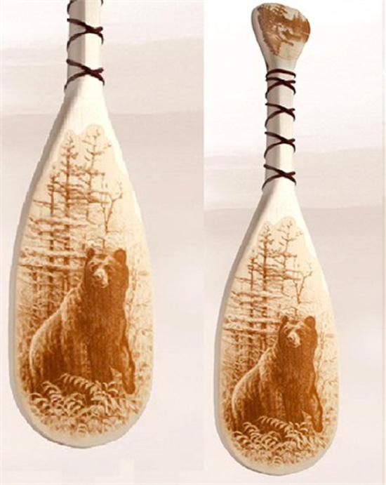 Кухонный декор из дерева в интерьере