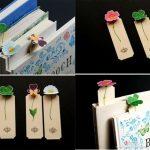 Фото 32: Закладки с цветочками