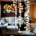 Фото 37: Новогодние гирлянды из звездочек