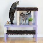 Фото 80: Комплекс для кошки из двух столиков