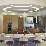 Фото 39: Дизайн круглой кухни