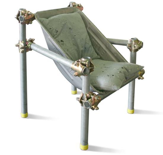 Пример кресла в стиле техно