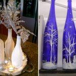 Фото 89: Новогодние вазы из бутылок