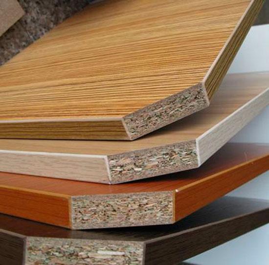 Столешница для кухни из ДСП: структура